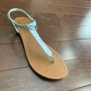 Madden Girl Mint Green Sandals